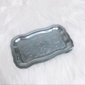 Other - Unbranded silver serving tray silver